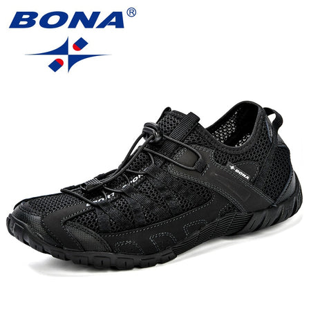 BONA 2020 Summer Sneakers Breathable Men Casual Shoes