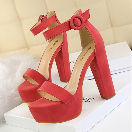 2020 new  European Fashion Women Platform Sandals