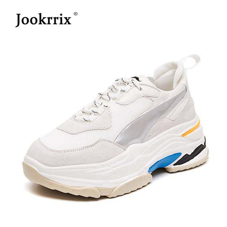 Jookrrix White Shoes For Women
