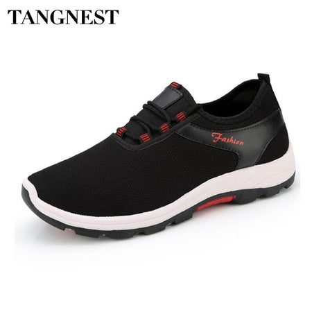 Tangnest Casual Flats Shoes Platform For Men