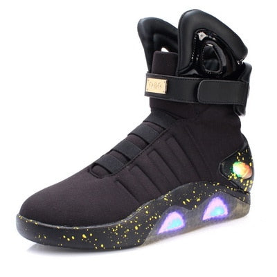 Led light shoes for men