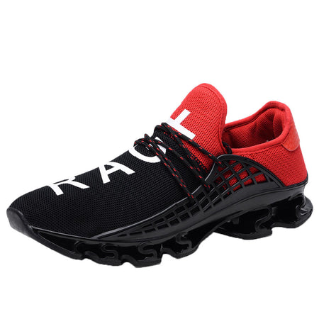Elastic Mash Casual Sneakers Shoes For Men's