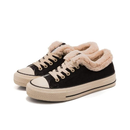 Smile Circle Super soft Winter Lace-up Sneakers shoes