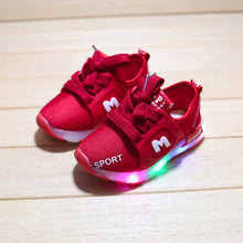 Luminous Toddlers Glowing Air Mesh Sneakers For Kids