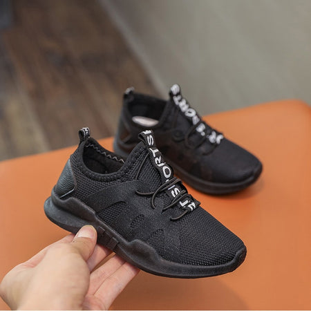 Kids Boys Girls Air mesh breathable Sport shoes for children Running Sneakers Casual Shoes #XTN
