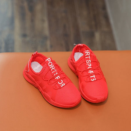 Kids Air mesh breathable Sport Running Sneakers