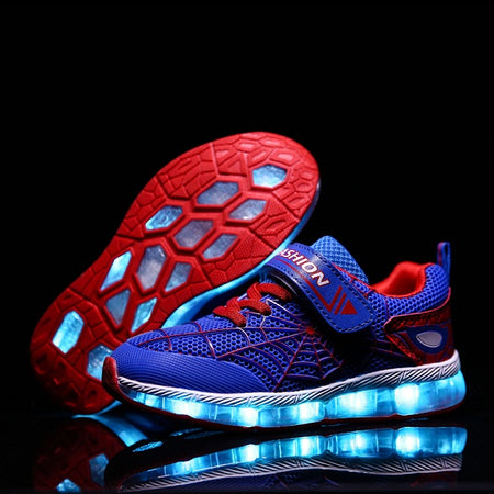 Kids Casual Luminous Sneakers