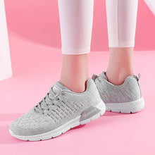 Running Shoes Women Light Breathable Sports Shoes Women Running Ladies Comfort Sneakers Grey Female Running Shoes Sport Training