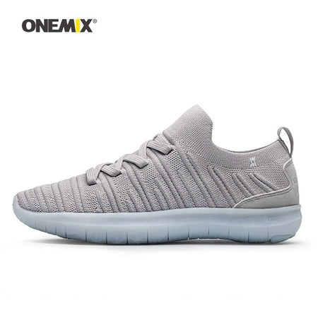 Onemix Trainers White Sneakers For Men
