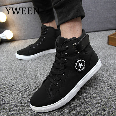YWEEN Men's Vulcanize Shoes Men