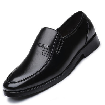 Luxury Brand Men Leather Formal Business Shoes