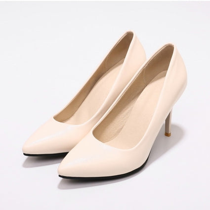 Hot Sale Brand Beige High Heels