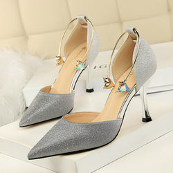 Shinny Glitter Wedding High Heel Pumps