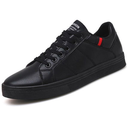 Soft Rubber Leather Footwear