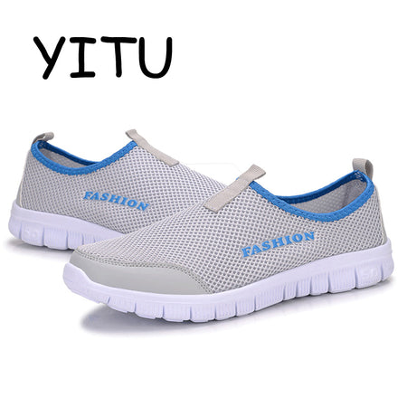YITU Hot Red Slip-On Woman Sneakers