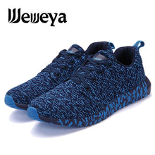 Weweya New Air Mesh Running Blue Sneakers For Men 2019