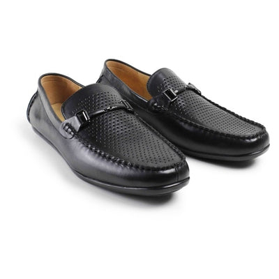 Vikeduo Leather Moccasin Men Dress Shoes