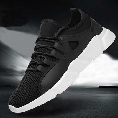 Breathable Black Men Sneakers Male Sneakers Adult High Quality Comfortable Non-slip Soft Mesh Men Shoes 2019 Summer New NX2