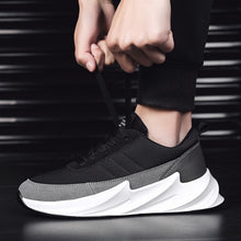 Shark Design Bottom Sneakers Men Mesh Casual Shoes