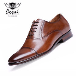 DESAI Brand Full Grain Leather Shoes