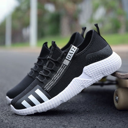 New Designer Mesh Tennis Casual Shoes Men 2019