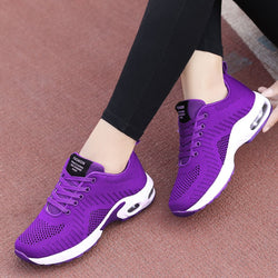 2020 Spring Autumn Korean Fashion Purple Sneakers Women Lace Up Casual Shoes Basket Femme Purple Sneakers Ladies Tenis Feminino
