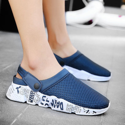 Weweya Woven Men Casual Shoes Breathable Male Shoes