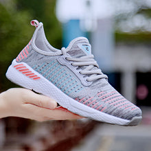 Sneakers Women Six Colorful Casual Navy Blue Shoes Tenis Feminino Fashion Breathable Flat Walking Shoes Women 2019 Gym Training