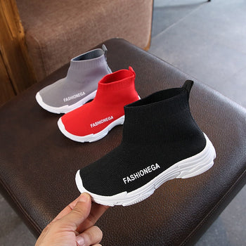 breathable children's running shoes