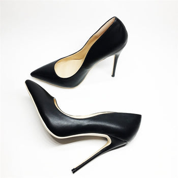 High heels pointed toe women pumps