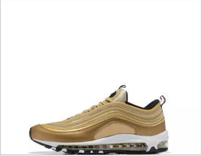 New Silver Bullet Metallic Gold Men 97 Casual Shoes