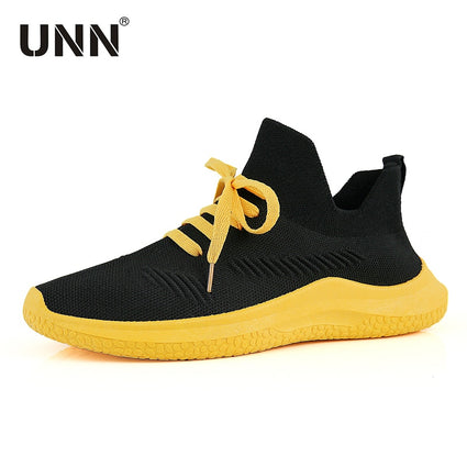 UNN Fashion Soft Woven Running Sneakers For Men