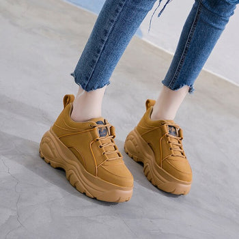 Woman High Platform Sneakers 2019