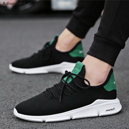 Breathable Mesh Sport Lace-up Light Fashion Shoes