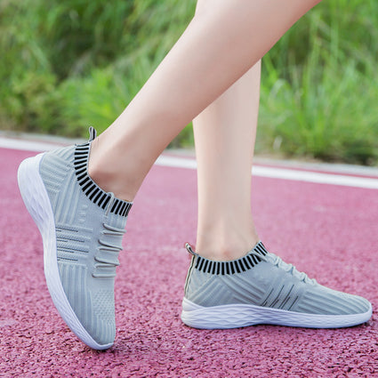 2020 Platform Sock Women Purple Sneakers Mesh Vulcanized Shoes Tenis Trainers Colorful Casual Sneakers CY062