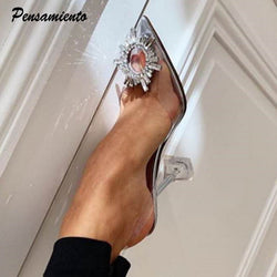 Rhinestones High heels Wedding Shoes