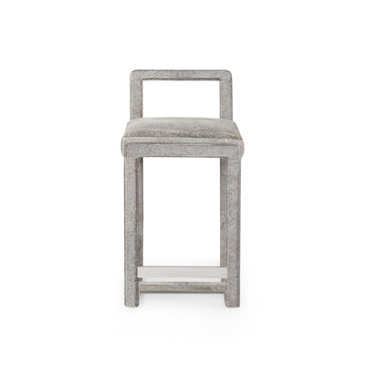 BALTAR COUNTER STOOL, GRAY - Salisbury & Manus
