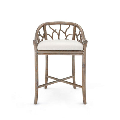 BOSCO COUNTER STOOL, DRIFTWOOD - Salisbury & Manus