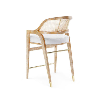 EDWARD COUNTER STOOL, NATURAL - Salisbury & Manus