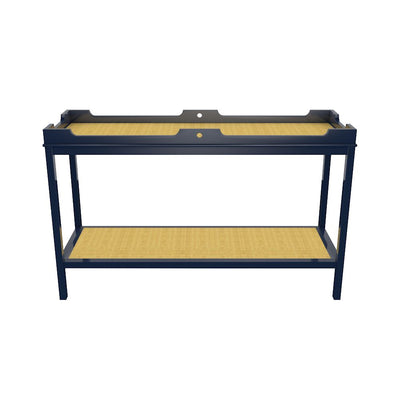 FENWICK CONSOLE W/ SHELF- CLUB NAVY - Salisbury & Manus