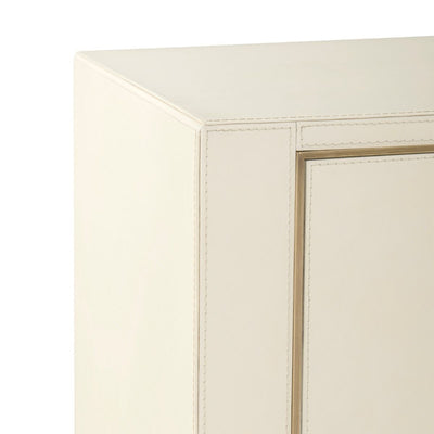 HUNTER EXTRA LARGE 6-DRAWER, IVORY - Salisbury & Manus