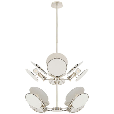 Osiris Medium Reflector Chandelier - Salisbury & Manus