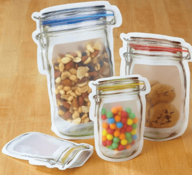 Reusable Jar Bags Couthier