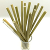 Bamboo Reusable Straw Kit Couthier 11 Straws + 1 Case + 1 Brush