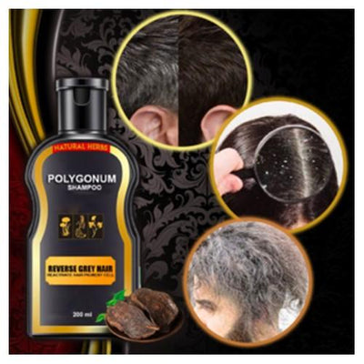 Reverse Gray™ Hair Darkening Shampoo Couthier