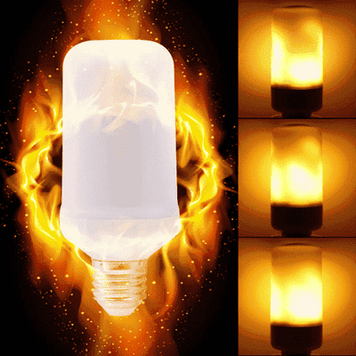 Flame Light Bulb oupseven