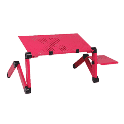 Ergonomic Laptop Table oupseven Pink