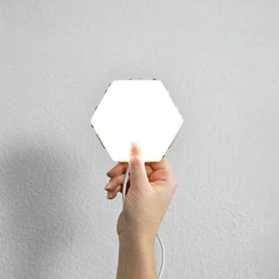 Touch Screen Hexagon Led Light Couthier