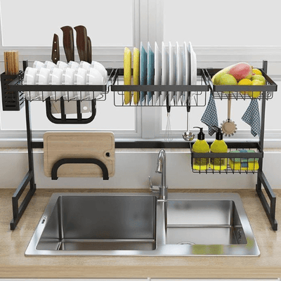 Stainless Coated Kitchen Drying Rack Couthier