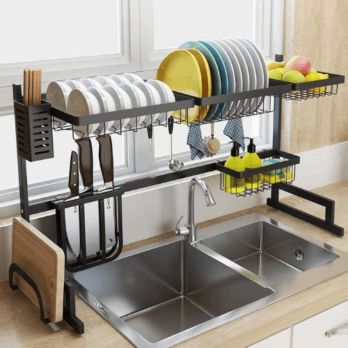 Stainless Coated Kitchen Drying Rack